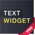Text widget (donate) icon