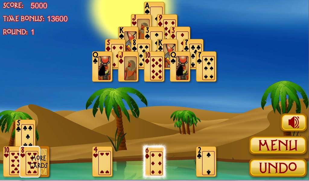 pharaoh pyramid solitaire
