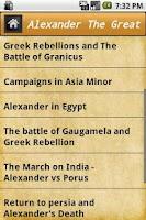 Screenshot of World's Great Stories