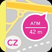 Bankomaty, pobočky a pošty CZ