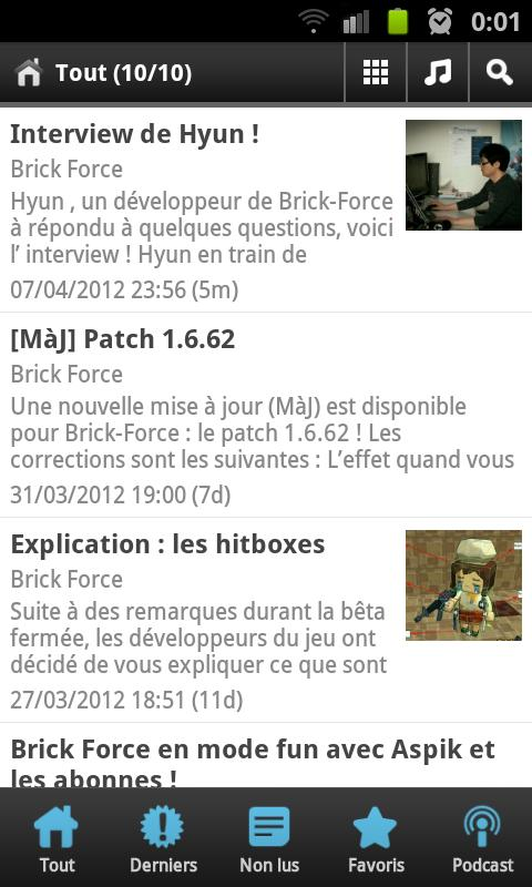Brickforce.fr - screenshot