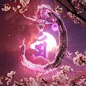 Dragon-RYUKYU HEALING Free logo