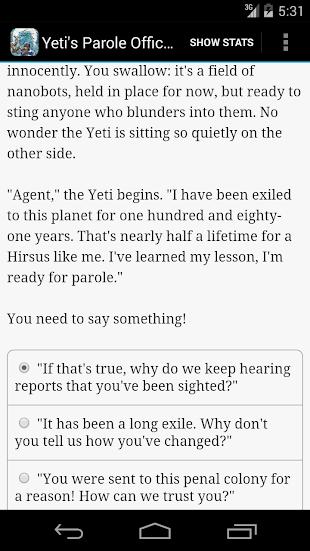 Yeti's Parole Officer- screenshot thumbnail