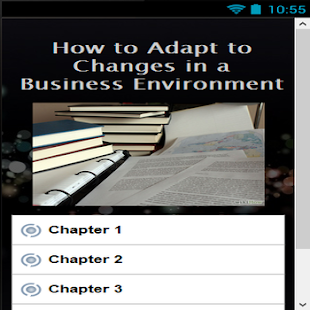 How Adapt to Changes Business screenshot