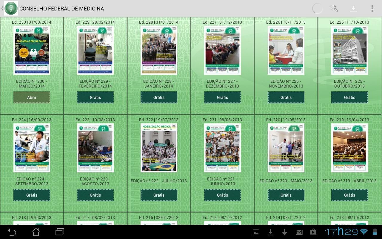 CFM Publicações - screenshot