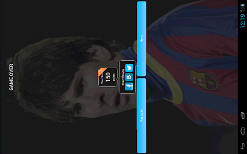 Guess the Footballer - screenshot thumbnail