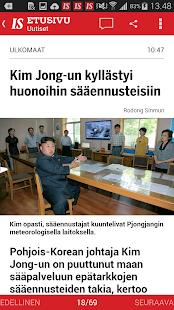 Ilta-Sanomat- screenshot thumbnail
