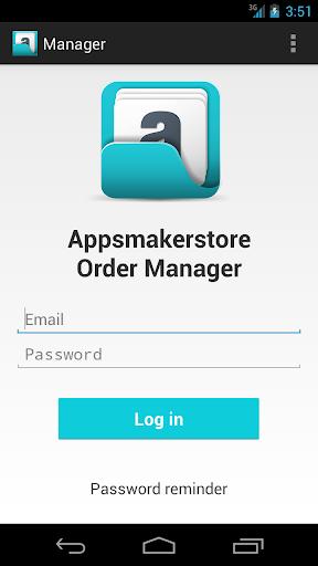 Appsmakerstore Order Manager