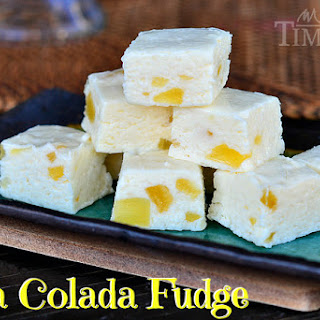 Pina Colada Fudge