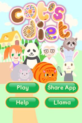 Cat's Diet Escape Game - screenshot