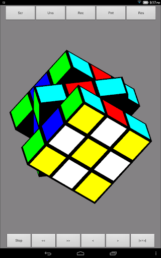 Rubiks Cube Virtually Real