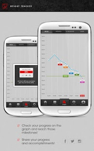 Weight Tracker - BMI BMR TDEE- screenshot thumbnail