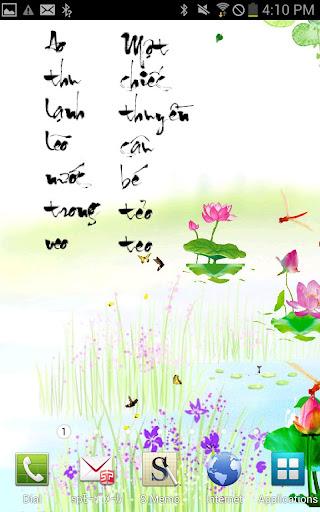 Chuồn chuồn đỏ - Ảnh nền động
