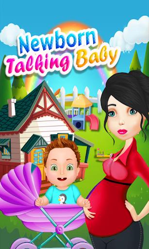 赤ちゃんのゲームの話新生児