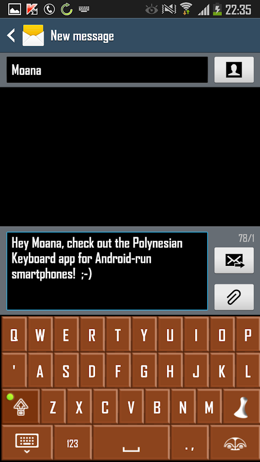 Samoan Cocoa- screenshot