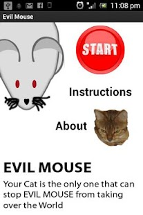 Evil Mouse Game For Cats