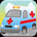 Ambulance Kid Games Match Race icon