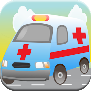 Ambulance Kid Games Match Race for PC and MAC
