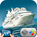 Cruise Ship River Run 3D TAB icon