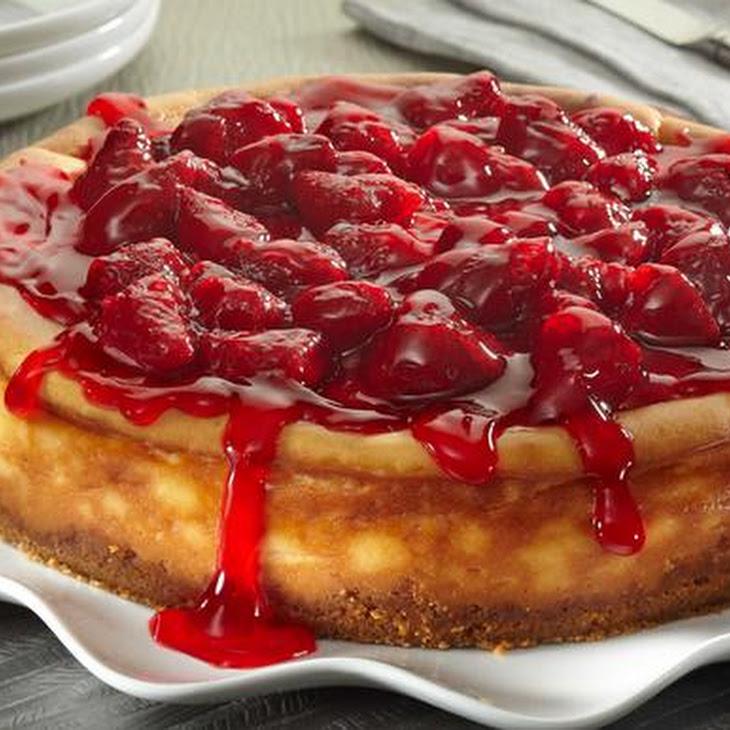 Cheesecake with Strawberries Recipe