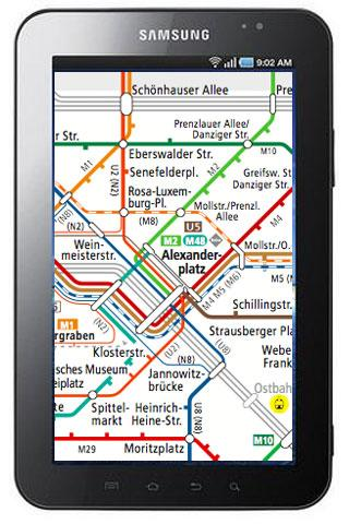 Berlin S Bahn U Bahn Tram Maps- screenshot