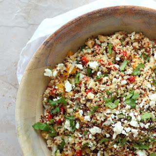 Quinoa and Feta Summer Salad.