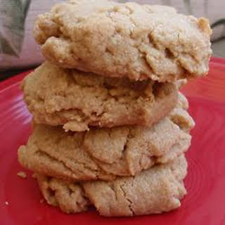 Sugar-Free Peanut Butter Cookies.