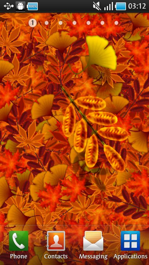 Autumn Leaves Live Wallpaper- screenshot