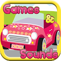 Car Games For Girls -Ad Free icon
