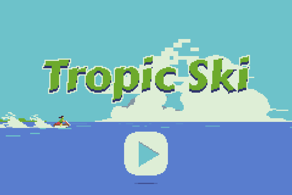 Tropic Ski- screenshot