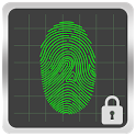 Fingerprint Screen Lock icon