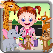 Baby At The Zoo - Animal Games