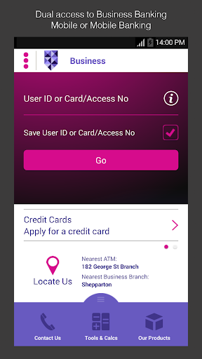Bank of Melbourne Business App