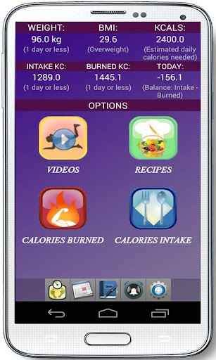 Workouts Recipes Cals Counter
