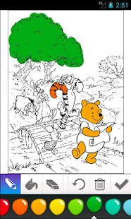 Winnie the Pooh Coloring - screenshot thumbnail