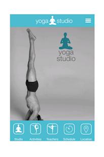 yoga studio online android apps on google play. Black Bedroom Furniture Sets. Home Design Ideas