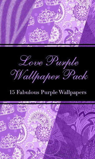 Love Purple Wallpack Pack