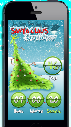 Santa Claus Countdown - Xmas