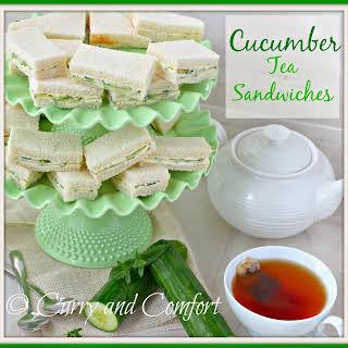 Cucumber Sandwiches - Throwback Thursday.
