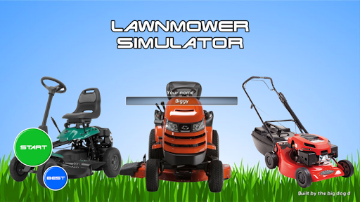 Lawnmower Simulator