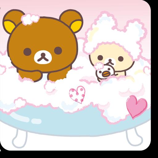 リラックマきせかえホーム(ハートバスタイム3) 個人化 App LOGO-APP試玩
