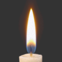 Candle for Birthday Sensor icon