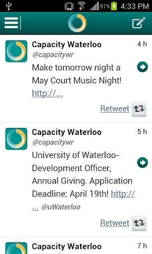 Capacity Waterloo Region