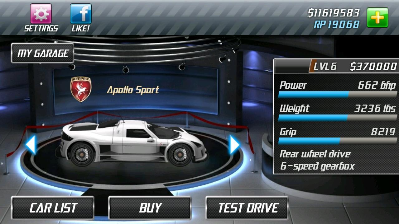 Drag Racing screenshot #3