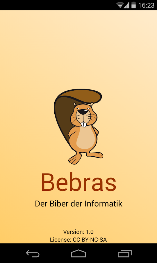 Bebras- screenshot