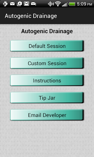 Autogenic Drainage