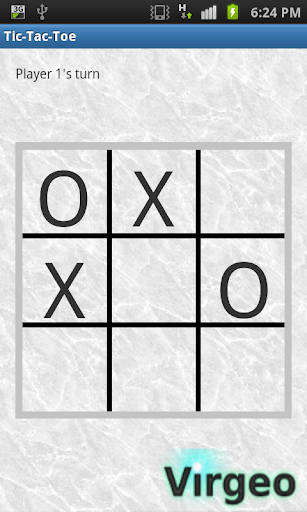 Bluetooth TicTacToe