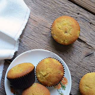 Brown Sugar Peach Muffins