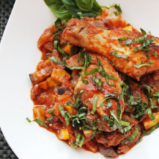 Easy Ratatouille with Chicken.