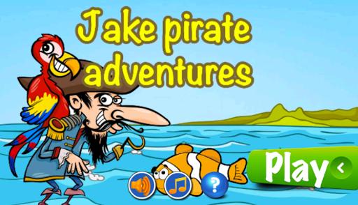Jake pirate adventurer